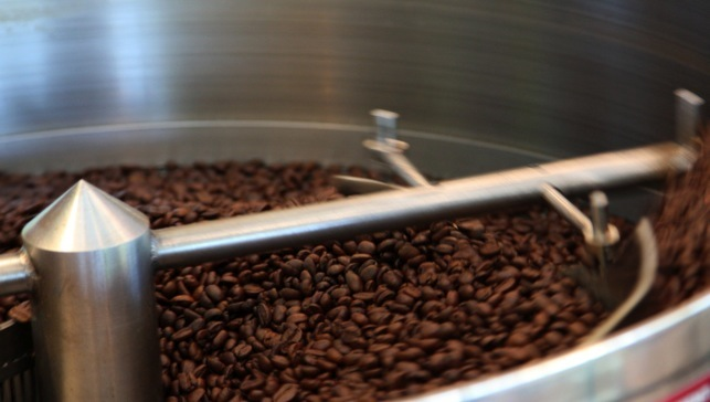 Small-batch roasted coffee